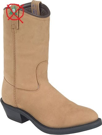 2d7ed26d59f CANADA WEST 5280/5292 WESTERN TAN INSULATED STEEL TOE/PLATE (5280-NO GREEN  PATCH)